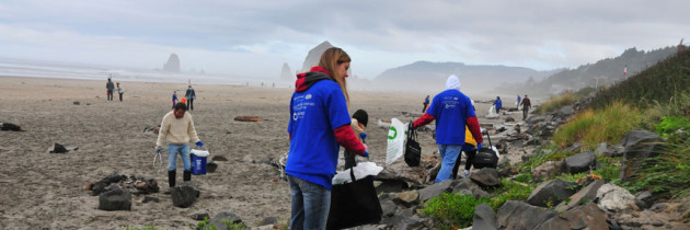 SOLVE Beach Clean Up